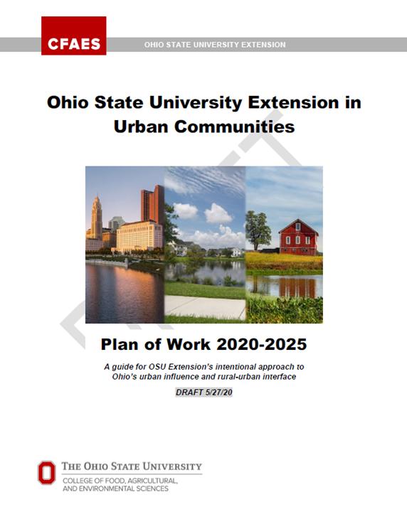 Urban Plan of Work cover