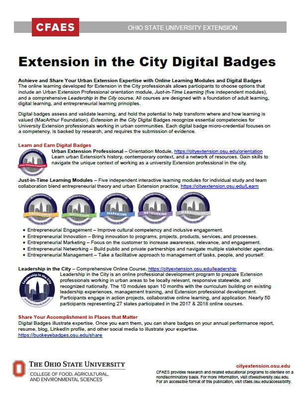 Click for Digital Badge Flier